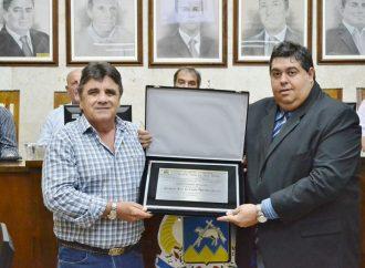 Kinkão é homenageado pela Câmara de São João da Boa Vista