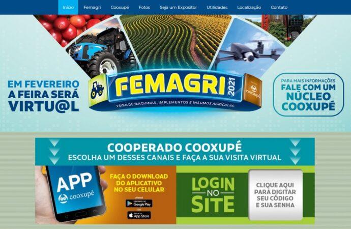 Femagri e a Feira do Cerrado serão em ambiente virtual